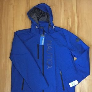 Nautical Large Water & Wind Resistant Jacket